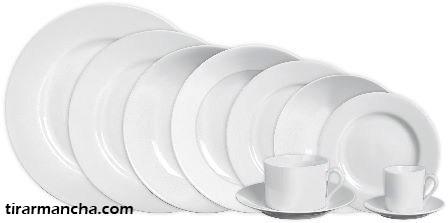 Como tirar manchas de porcelanas