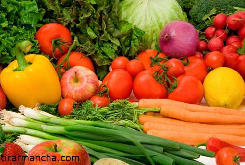 Vários legumes, como tirar mancha de cenoura do carpete