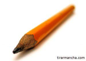 Imagem de um lápis, como tirar mancha de grafite de lápis da roupa
