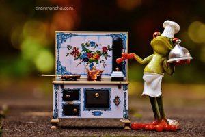 Como limpar fogão inox manchado