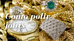 Como polir jóias de ouro e prata