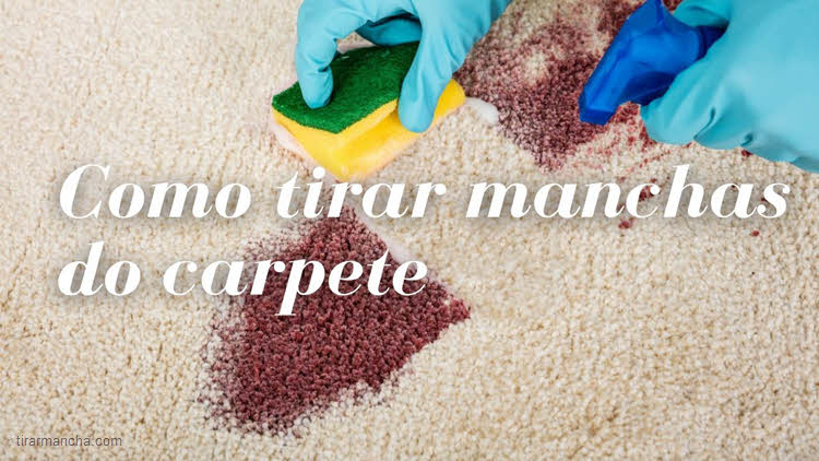 Dicas para tirar mancha de xarope do carpete