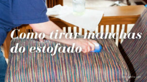 Como tirar mancha do estofado, sofá, cadeira, outros