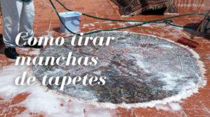 Como limpar tapetes para tirar manchas
