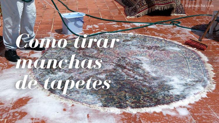 Como limpar tapetes adequadamente