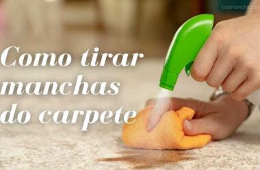Como tirar mancha de hidratante labial do carpete